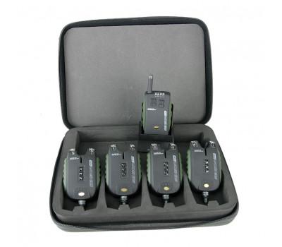 Набор сигнализаторов CARP ACADEMY SENSOR WDX 4+1