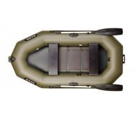 Двухместная надувная гребная лодка BARK B-240C
