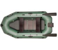 Двухместная надувная гребная лодка BARK B-250ND