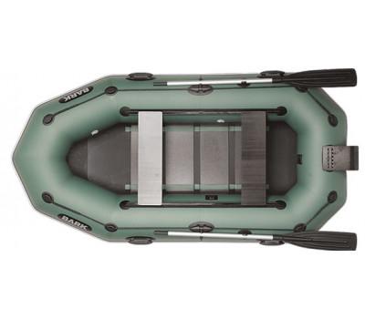 Двухместная надувная гребная лодка BARK B-270NPD