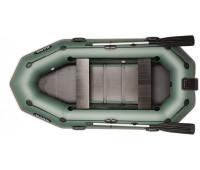 Трехместная надувная гребная лодка BARK B-280NPD