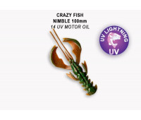 "Crazy Fish Nimble 4"" 43-100-14-6-V"