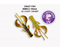 "Crazy Fish Nimble 4"" 43-100-4D-6-V"