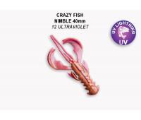 """Crazy Fish Nimble 1.6"""" 49-40-12-6"""