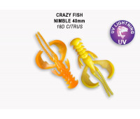 "Crazy Fish Nimble 1.6"" 49-40-18D-6"