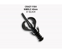 "Crazy Fish Nimble 1.6"" 49-40-51-6"