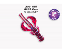 "Crazy Fish Nimble 1.6"" 49-40-73-6"