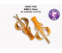 """Crazy Fish Nimble 1.6"""" 49-40-8D-6"""