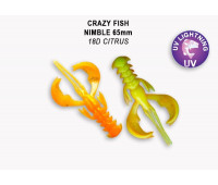 "Crazy Fish Nimble 2.5"" 44-65-18D-6"