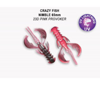 """Crazy Fish Nimble 2.5"""" 44-65-23D-6"""