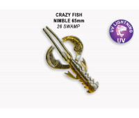 "Crazy Fish Nimble 2.5"" 44-65-26-6"