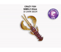 "Crazy Fish Nimble 2.5"" 44-65-32-6"