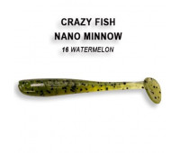 "Crazy Fish Nano Minnow 1.6"" 6-40-16-6"