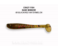 "Crazy Fish Nano Minnow 1.6"" 6-40-68-6"